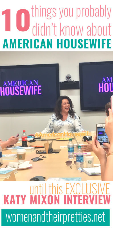 Katy Mixon told us all about American Housewife recently. Here's 10 things you didn't know about American Housewife before this Katy Mixon Interview.