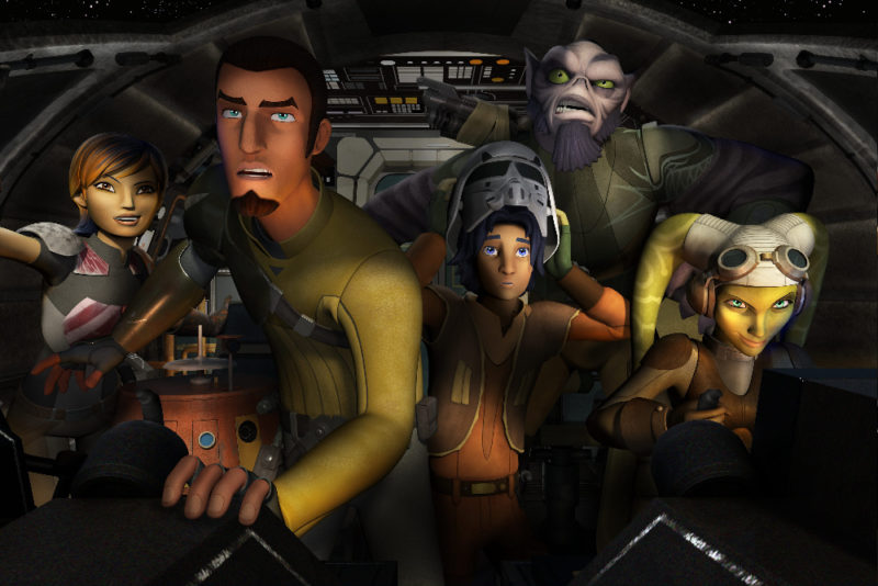 Coexisting in the Star Wars Universe: Star Wars Rebels Producer Dave Filoni Interview #StarWarsRebelsEvent