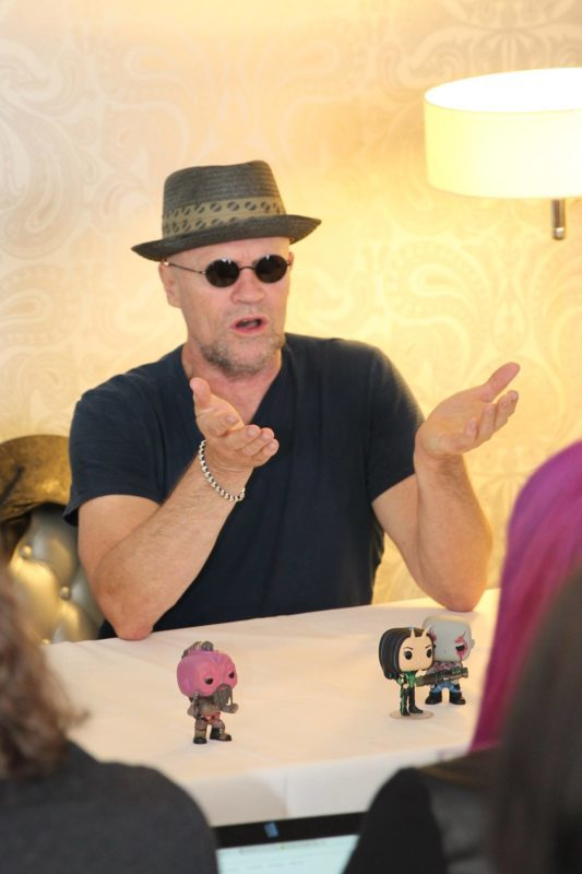 Interview about Guardians of the Galalxy Vol. 2 with Michael Rooker