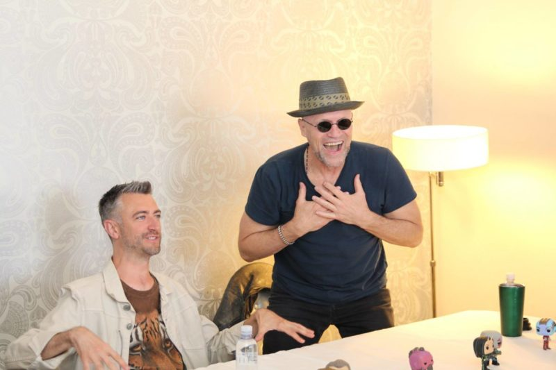 Who are Michael Rooker and Sean Gunn's favorite Guardians characters? Not Yondu & Kraglin!