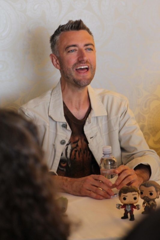 Sean Gunn discusses working with brother, James Gunn, in Guardians of the Galaxy Vol. 2 Interview