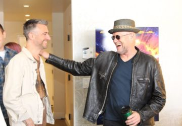 Getting a closer look at Yondu and Kraglin in Guardians of the Galaxy Vol. 2 Interview with Michael Rooker & Sean Gunn