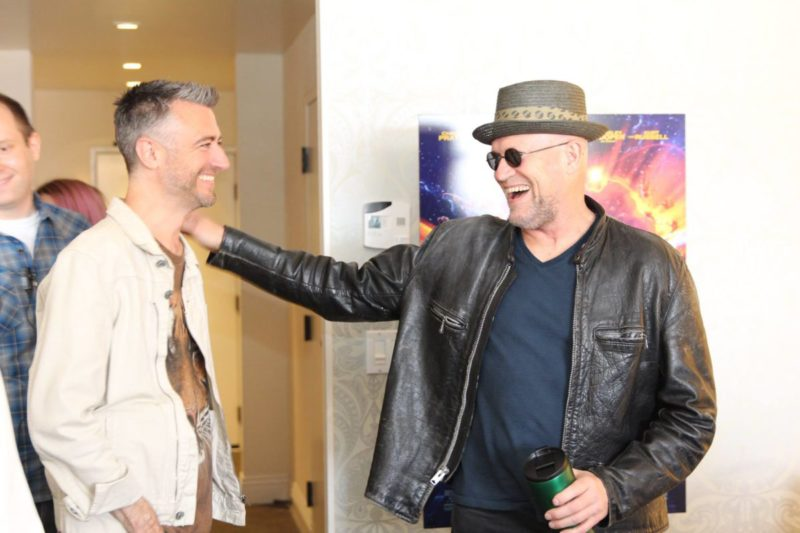 Sean Gunn and Michael Rooker Guardians Interview - Vol. 2