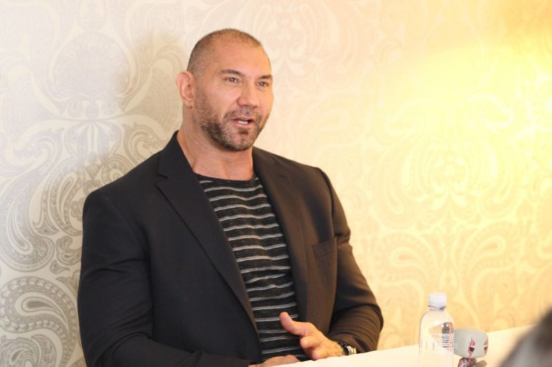 Dave Bautista gets real about Drax, The Avengers, & insecurities in this Dave Bautista Guardians of the Galaxy Vol. 2 interview