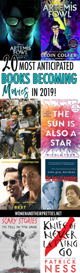 20 best books becoming movies in 2019