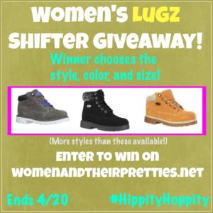 Women's Lugz Shifter Giveaway