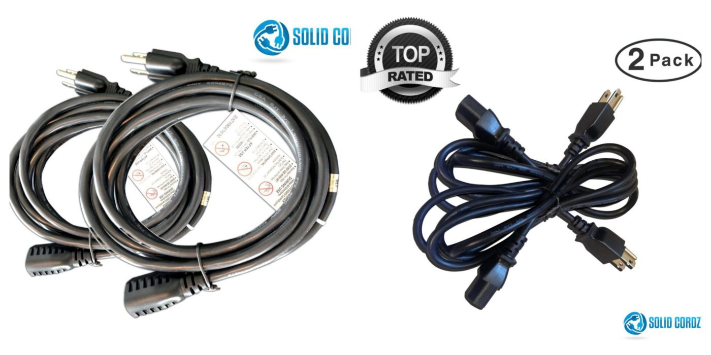 Solid Cordz Extension Cord Power Cord