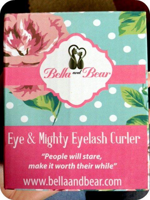 Bella and Bear Eyelash Curler