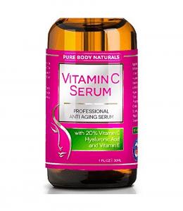 Pure Body Naturals Vitamin C Serum Review
