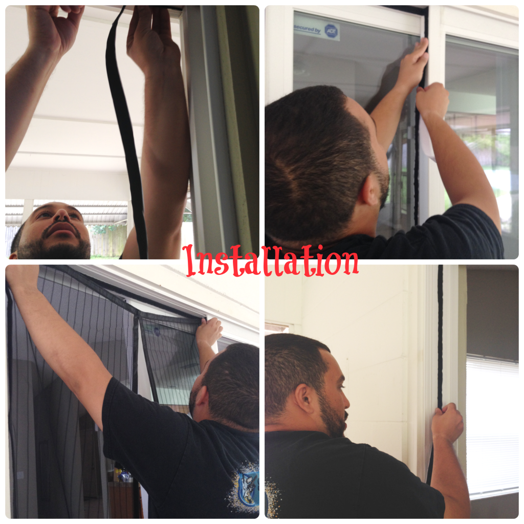 Screendoor Installation