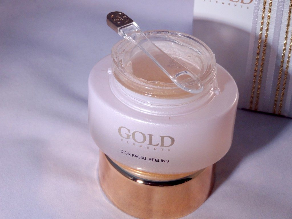 Gold Elements D'Or Facial Peeling Review 2