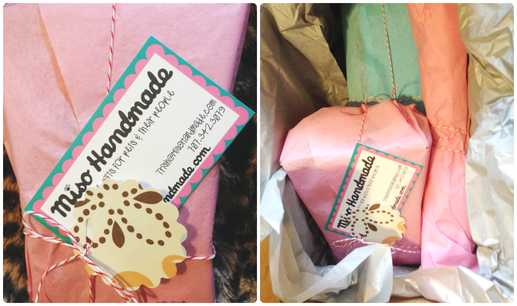 MisoHandmade Catnip Toys Packaging