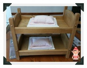 Amish Doll Bunk Bed GG