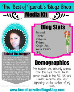 Best of Laurali's Blogs Media Kit