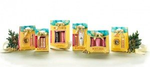 Burts Bees Holiday Collection