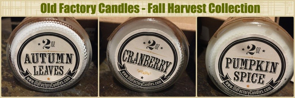 Old Factory Candles Fall Harvest Collection