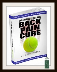Tennis Ball Back Pain Cure GG