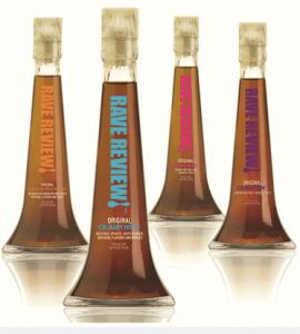 Rave Reviews Culinary Liquor
