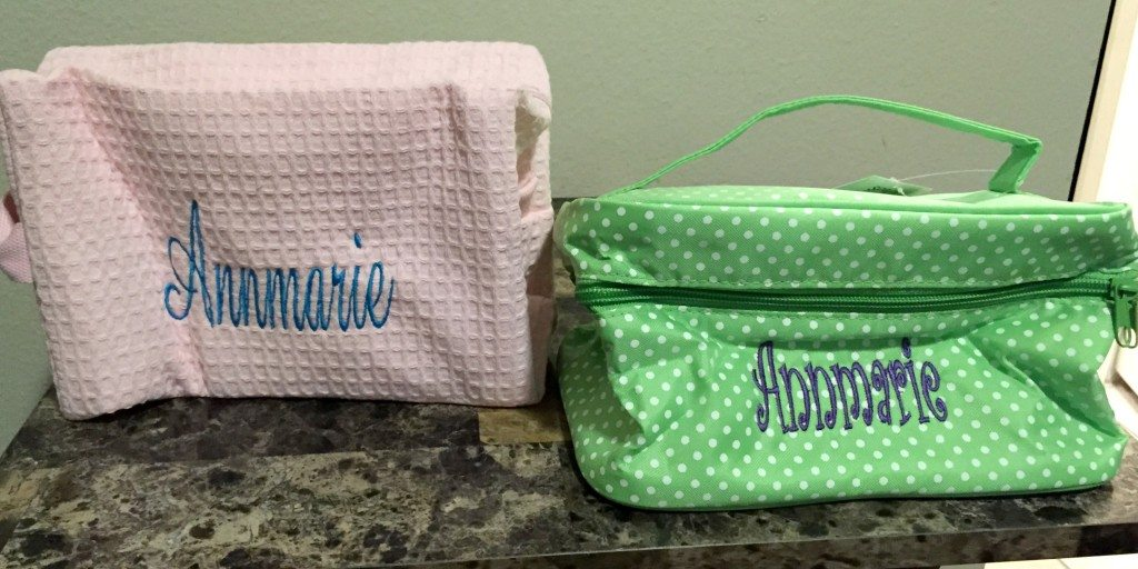 Bathtub Buzz Customized Cosmetic Bags