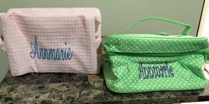 Bathtub Buzz Customized Cosmetic Bags