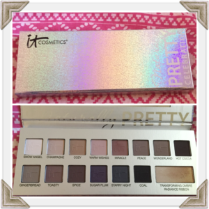 It Cosmetics Naturally Pretty Celebration Eyeshadow Palette GG
