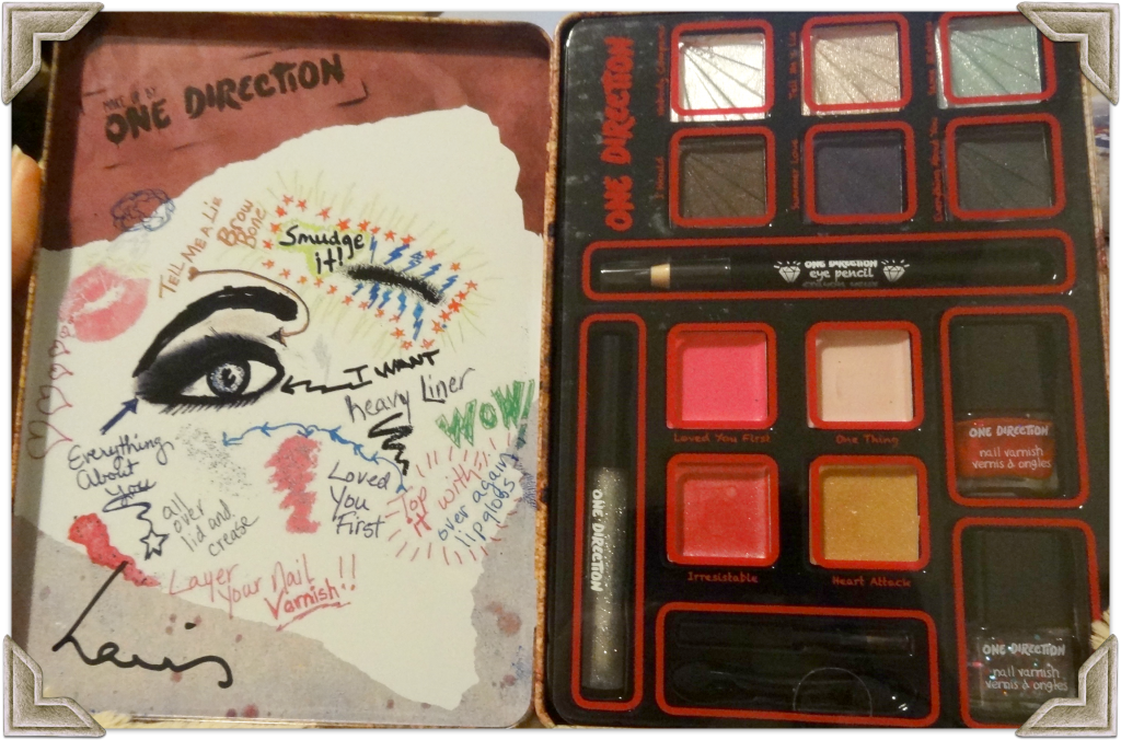 Limited Edition One Direction Makeup Tin