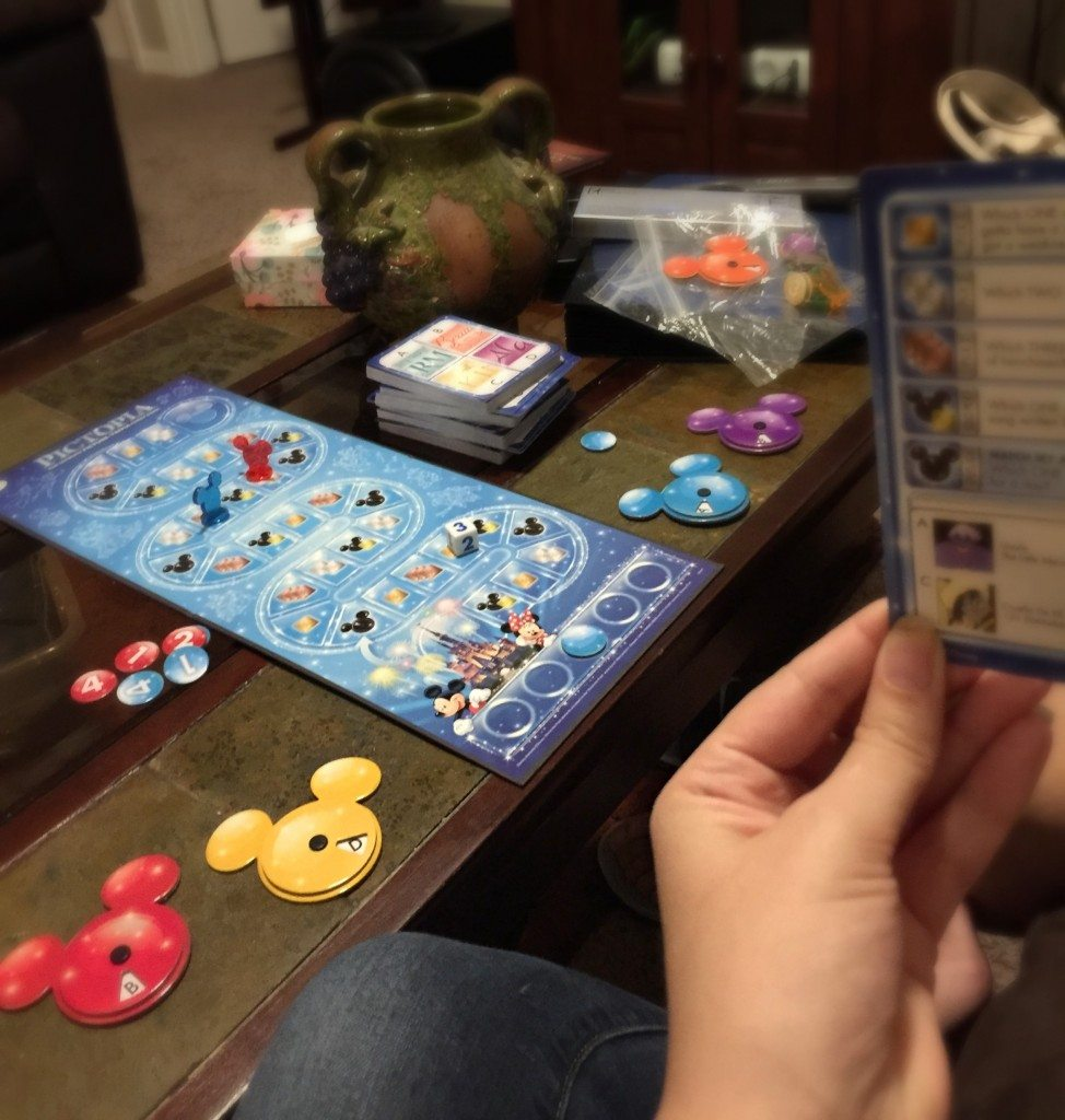Pictopia Disney Edition Trivia Game Review