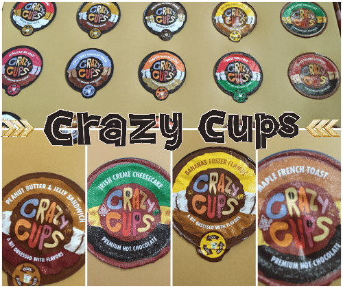 Crazy Cups Sampler Pack Coffees and Cocoas