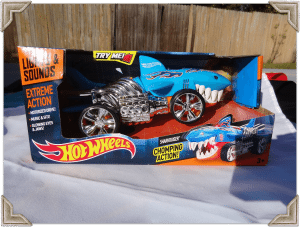 Hot Wheels Light and Sound Sharkruiser