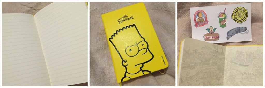 Simpsone Moleskine Limited Edition Notebook