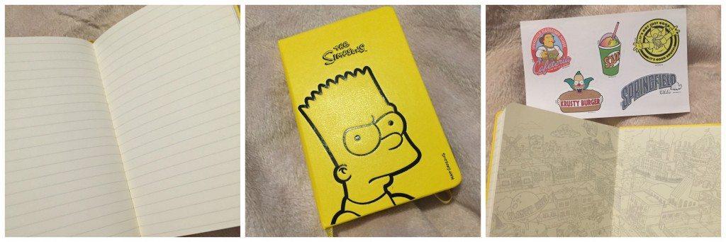 Simpsone Moleskine Limited Edition Notebook