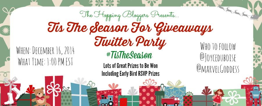 Tis The Season Twitter Party