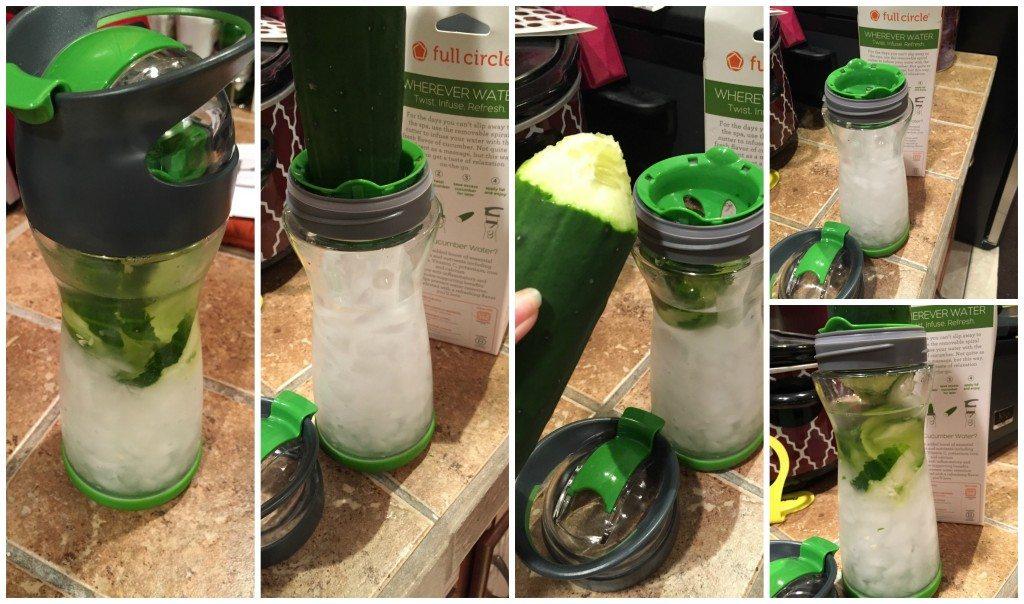 Wherever Cucumber Water Bottle
