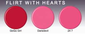 SinfulColor Nail Polish Flirt With Hearts Collection