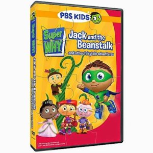 Super Why DVD &  Puzzle