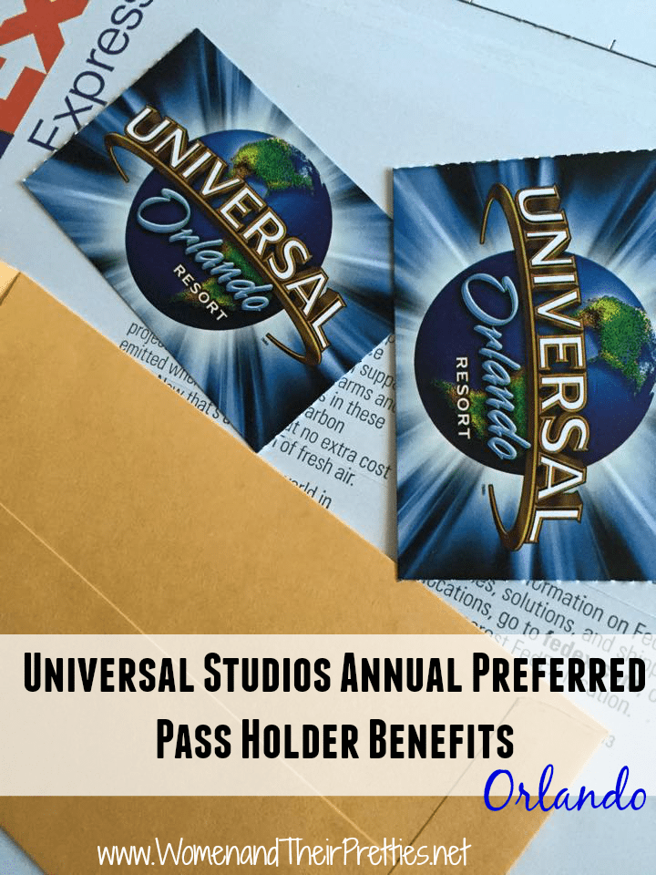 Universal Annual Pass Holder Benefits