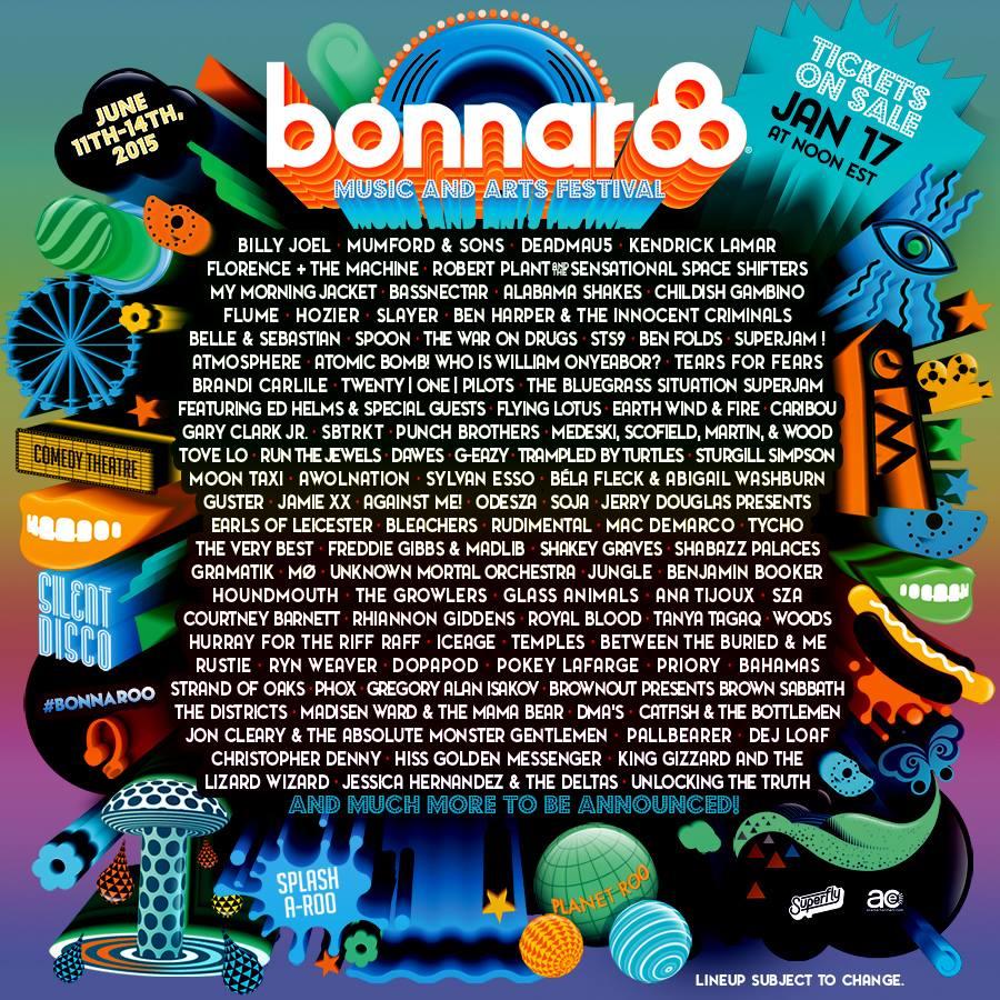 bonaroo lineup