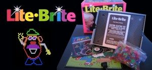 lite brite- toys of the 90s