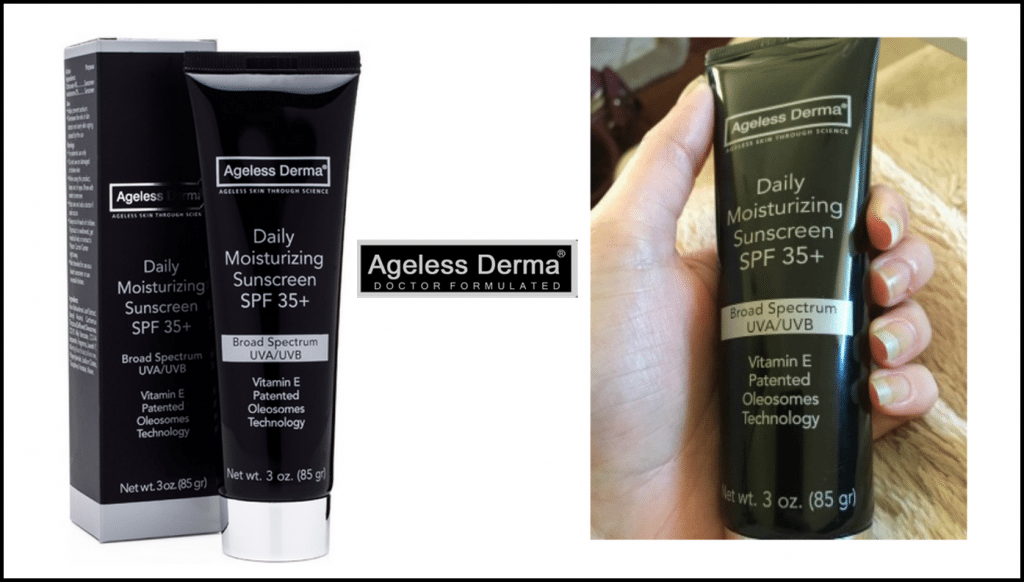 Ageless Derma Daily Moisturizing Sunscreen