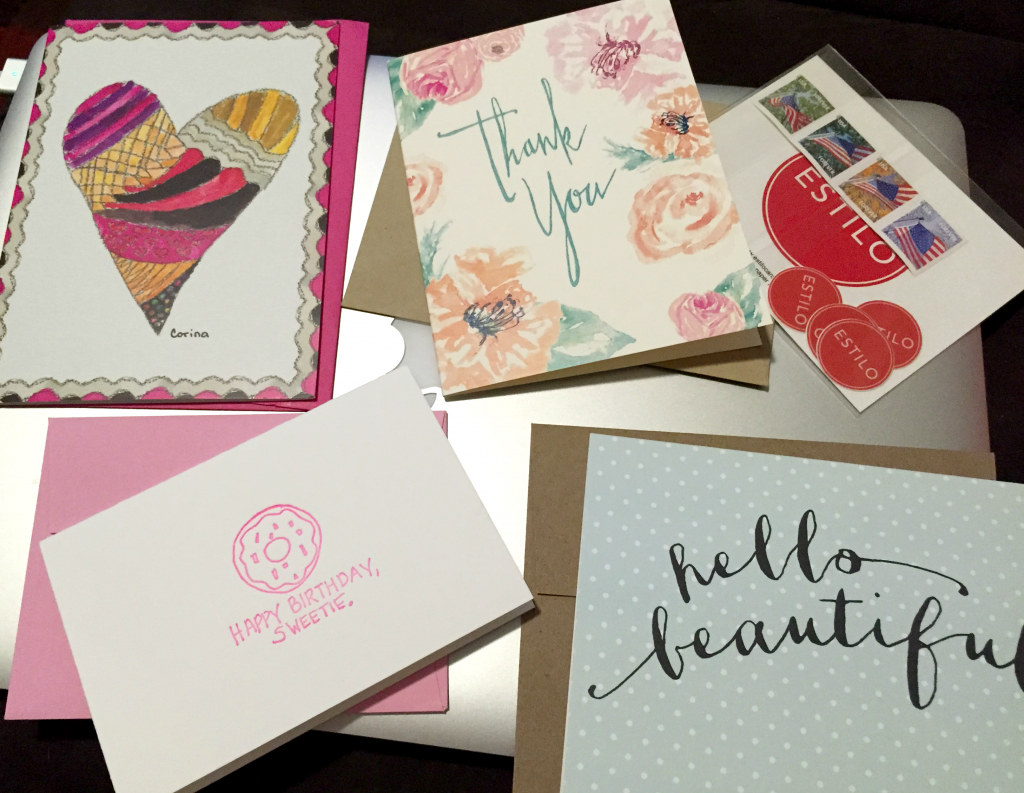 Estilo Greeting Cards Subscription Box - February Box Review