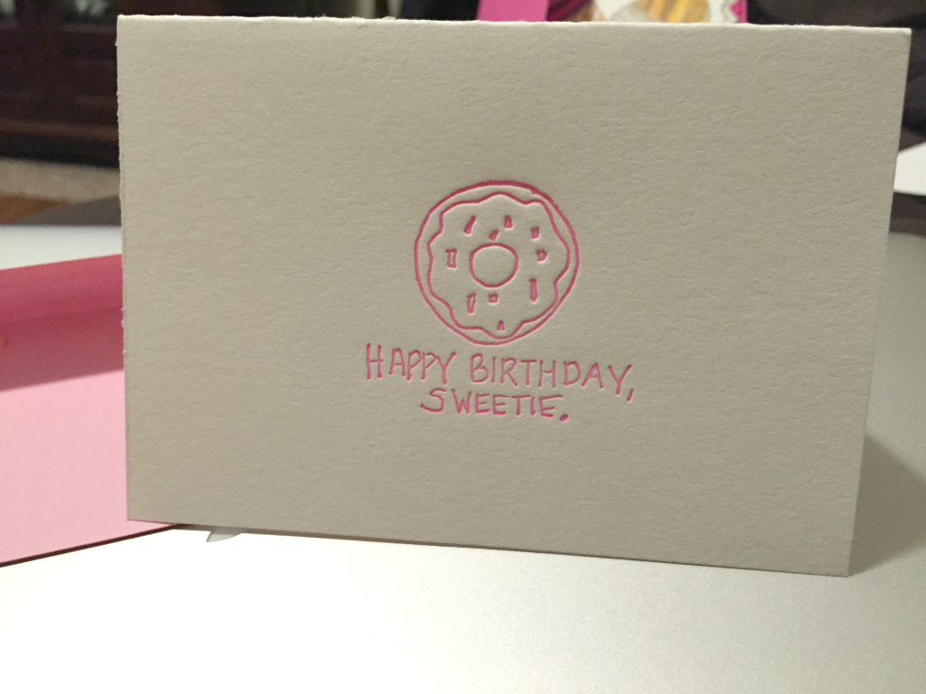 Estilo Happy Birthday Greeting Card
