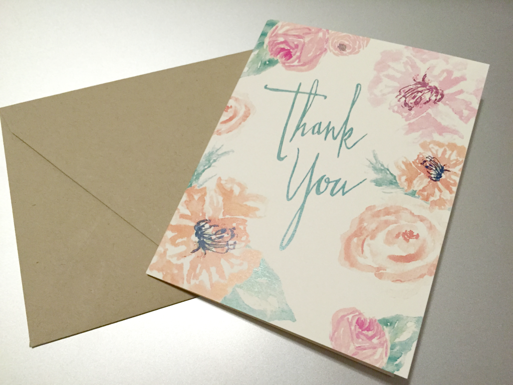 Estilo Thank You Card