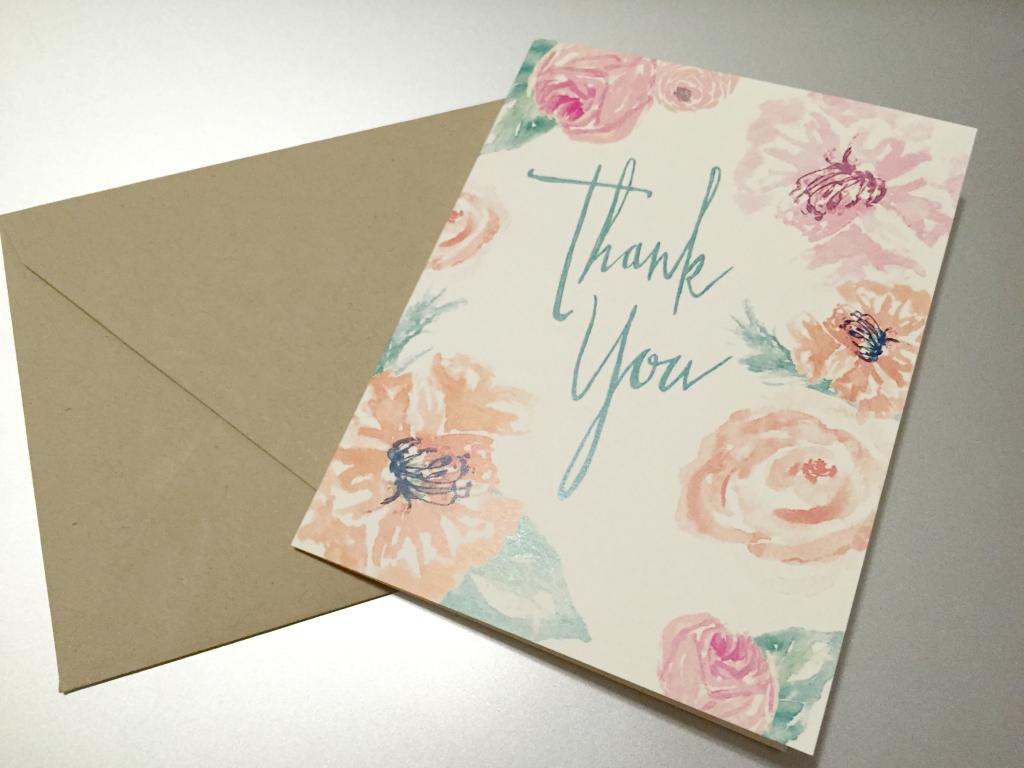 Estilo Thank You Card