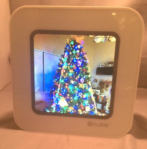 Hashtag Cube #Cube Digital Photo Album Streaming Device