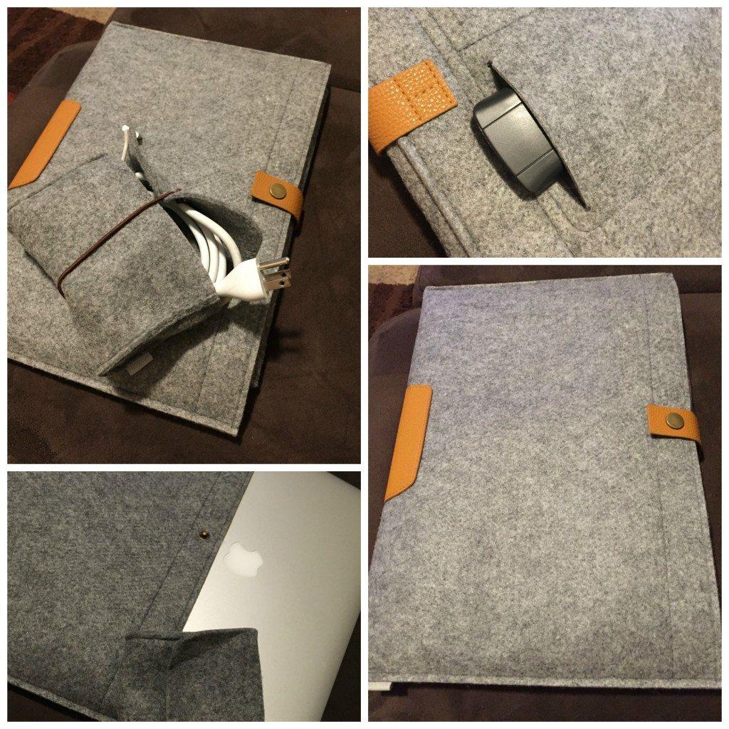Inateck Macbook 15 in Case