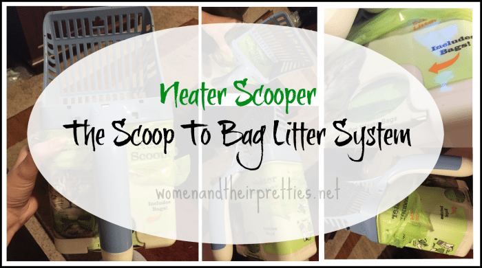 Neater Scooper - The Scoop to Bag Litter System