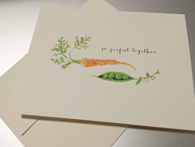 Pennie Post So Perfect Together Greeting Card