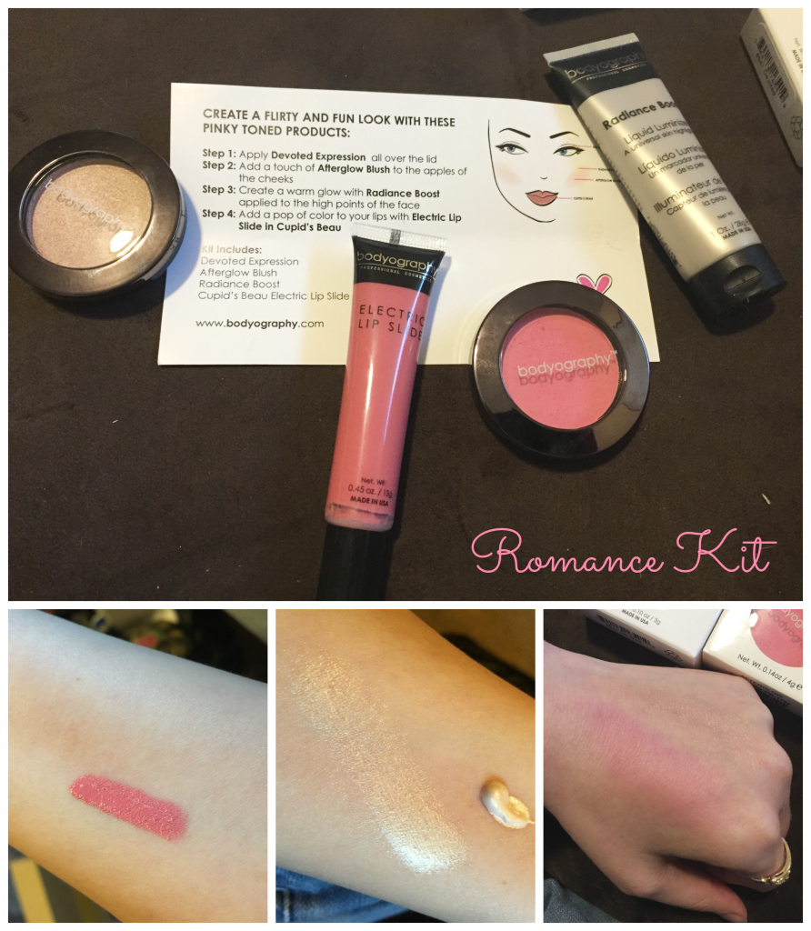 Romance Kit- Bodyography Valentine's Day Makeup Kits - Check out all of the products in the kits and tell me what you love about them! httpwp.mep4OPhf-1pn #ValentinesDay #Makeup