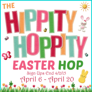 The Hippity Hoppity Easter Hop Sign Up Sidebar Button