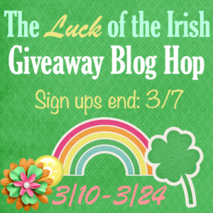 The Luck of the Irish Blog Hop Sidebar Sign up Button